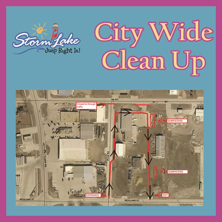 City Wide Clean Up - Area Map